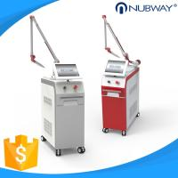 1064nm 532nm long pulse Nubway Nd yag laser tattoo removal pigment freckle removal Anti-aging beauty machine