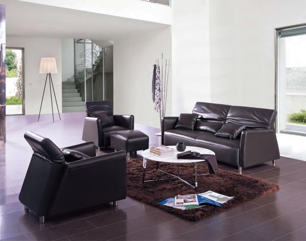 Image Purple Sectional Sofa on Luxury Living Room Set