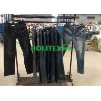 China Second Hand Mens Clothing , Korean Style Used Mens Jeans Pants For Southeast Asia wholesale