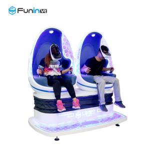 China Power Rating Virtual Reality Machine Double Seats Capsule 9d Vr Egg Cinema wholesale