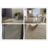 China Glazed Sandstone Ceramic Floor Tiles Concave Convex Pattern Surface wholesale