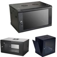 China Stable Network Rack Cabinet , 6U Wall Mount Rack For Network Switch wholesale