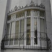 China high quality  wrought iron window grill design wholesale