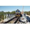 China 45 Meters Long Span Bridges , Galvanized Prefabricated Steel Truss Pedestrian Bridge wholesale
