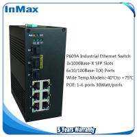 China 9 ports Industrial PoE Switches, 3G+6TP Gigabit POE networking Switch wholesale