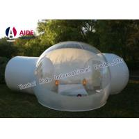 China Outdoor Bubble Tent PVC Clear Camping Tent 4M Diameter & 2 Fitting Room wholesale