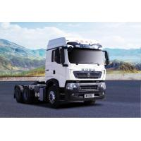 China Heavy Duty Used Tractor Truck 31 - 40t Load Capacity 6x4 Drive Wheel ISO on sale