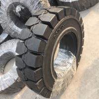 China Solid forklit tire 9.00-16, high quality solid tire 900-16, industry solid tire 9.00-16 black nylon tire on sale