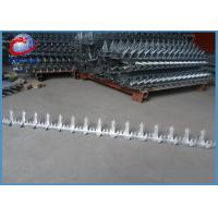 Buy cheap Anti Theft Wall Security Spikes Pvc Coated / Galvanized Barbed Wire from wholesalers