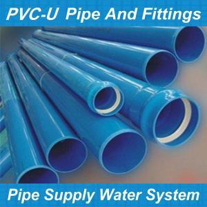 China pvc-u pipe/2.5 inch pvc pipe/types of pvc pipe/fiber optics pvc pipe on sale