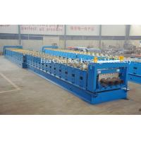 China Huachen Decking floor production roll forming line /high quality deck floor machine on sale