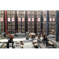 China High Density Automated Warehouse Racking Systems , Flexible Steel Racking System wholesale