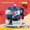 China Shopping Mall Three Seats 9d Virtual World Simulator With VR Games 220V wholesale