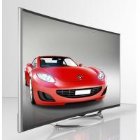 China 50 Inch Curved 4K TV / Curved Flat Screen TV Narrow Bezel Full HD1080P wholesale