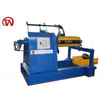 China 5 Ton Roll Forming Machine Components Automatic Hydraulic Decoiler Without Car wholesale