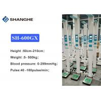 China 299mmHg Electronic Height And Weight Machine Blood Pressure Pulse And Heart Rate wholesale