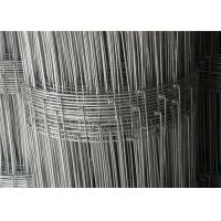 China Livestock  Hog  Cow  Garden Yard 6ft High Wire Fencing Fabric  Galvanized 50m Or 100m / Roll wholesale