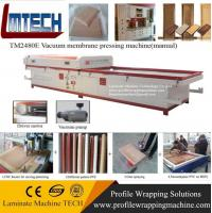 China carved wooden door panels vacuum membrane press machine wholesale