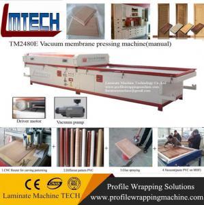 China Veneer door making vacuum membrane press machine on sale