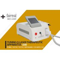 China Portable Q Switch Laser Tattoo Removal Equipment With Infrared Ray Indicator wholesale
