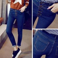 China European Style Jeans Pent Men Broken Stone Washed Demin Jeans wholesale
