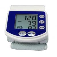 China Automatic digital accurate wrist high blood pressure monitor with 60 sets Memory        on sale
