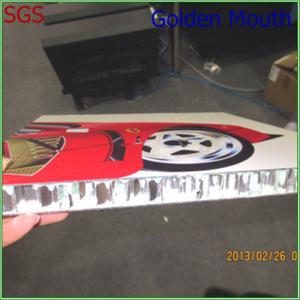 China Display Road Sign UV Flatbed Printing On Metal /  Acrylic / Aluminum on sale