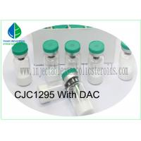 China Medicine Grade Injectable Peptides CJC-1295 With DAC White Lyophilized Powder on sale