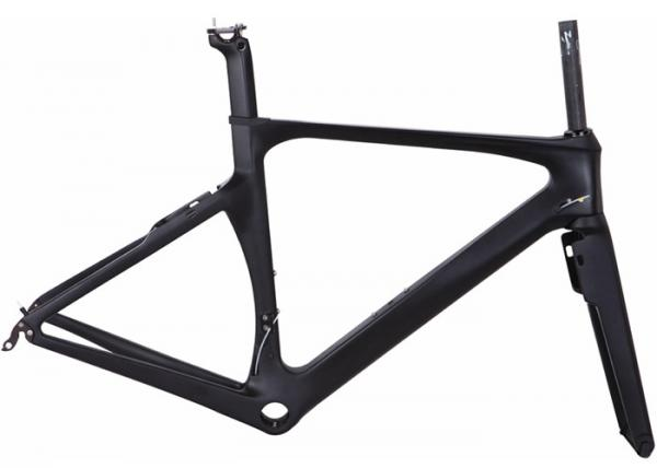 Quality Max Tyre700*25C Carbon Road Bike Frame 700C Internal Cable Routing PF30 BB for sale