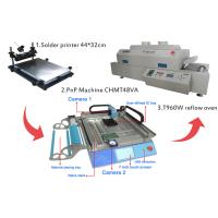 China Small SMT Assembly Line Surface Mount Technology Machine T60w Reflow Oven on sale