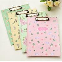 China Floral Flower Clipboard Paper Holder Decorative Clipboards For Teachers Children wholesale