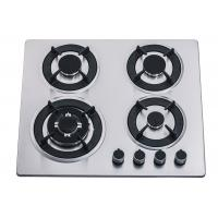60CM 4 Burner Stainless Steel Gas Hob , Four Burner Stove Top For Home Kitchen