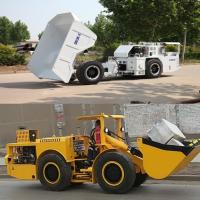 China Low Profile Heavy Duty Dump Truck Easy Operation For Underground Mining wholesale