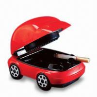 China USB Smokeless Ashtray with Red LED Headlights and 2 x AA Batteries wholesale