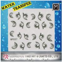 China Custom Water transfer paper creative Water Nail Stickers, Art decals wholesale