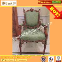 Buy cheap (BK0109-0012C)Noble Dining Chairs for Luxury Royal Palace Dining Table, Marquetry Super Round  Dining Room Furniture Set from wholesalers