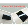 China Electrophoretic Black Pearls Aluminum Window Frame Profile Normal Length 6m wholesale
