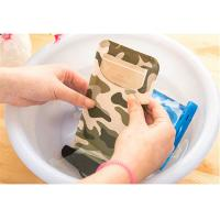 China Transparent Printed Plastic Bags Phone Water Proof Bag With Compass wholesale