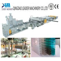 China multiwall polycarbonate hollow sheet extrusion line wholesale
