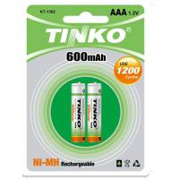 China OEM NI-MH rechargeable battery AAA 600mAh wholesale