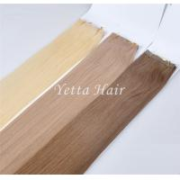 China Multi Colored Unprocessed Pre Bonded Hair Extensions With Blonde Yellow on sale
