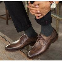 Buy cheap Formal Office Working Men Formal Dress Shoes , Italian Genuine Leatherman Shoes from wholesalers