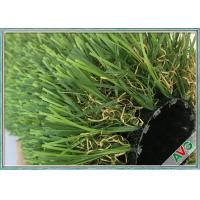 China 12800 Dtex No Glare Outdoor Synthetic Grass PU Coating For Garden / Landscaping wholesale