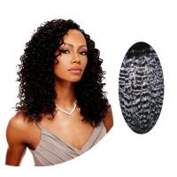 China Water Wave / Kinky Curly Human Hair Wigs100% Brazilian Body Wave Hair wholesale