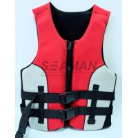 China 100N Neoprene Water Leisure Adult / Kids Life Jackets For Surfing Boating Kayak wholesale