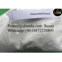 China Injectable Oral Anabolic Steroids  Stanozol for Bodybuilding Fat Buring White Powder 10418-03-8 wholesale