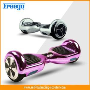 China Metallic 6.5'' Self Balancing Scooter Chrome Two Wheeled Electric wholesale