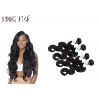 China Peruvian Body Wave Unprocessed Remy Hair Weave For America Girls No Tangle wholesale
