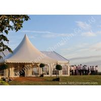 China Decorated Luxury Wedding Tents Marquee With Noble / Gorgeous Linings wholesale