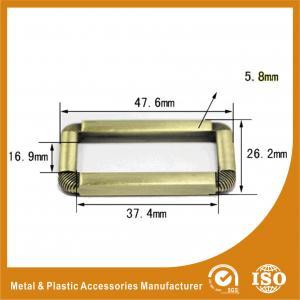 China Букле пряжка внутреннего антиквариата 37.4ММ латунная классическая регулируемая квадратная для сумок или чемодана wholesale